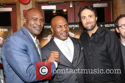 Evander Holyfield, Mike Tyson and Bert Marcus 6