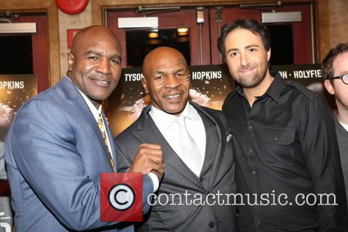 Evander Holyfield, Mike Tyson and Bert Marcus 7