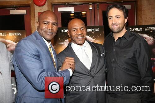 Evander Holyfield, Mike Tyson and Bert Marcus 8