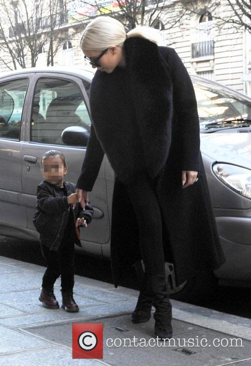 Kim Kardashian and North West 5
