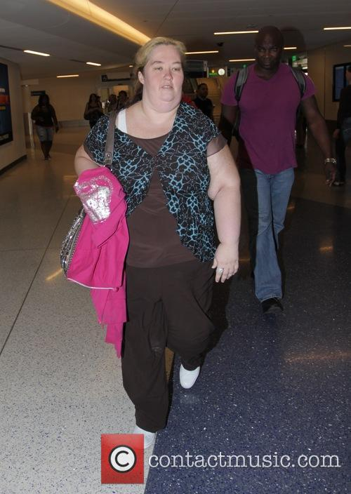 Mama June arrives at Los Angeles International Airport