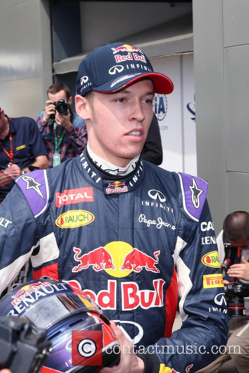 Formula One, Daniil Kwjat and (kvyat) 6