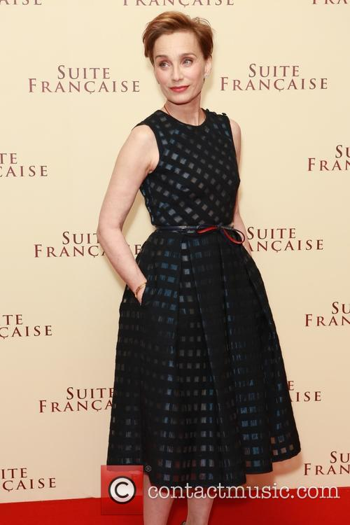 Kristin Scott Thomas at 'Suite Francaise' premiere