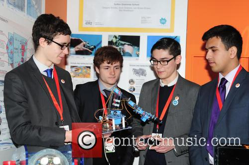 Engineers, Sutton Grammar School, Gregory Brooks 17yrs, Arun Dawson 18yrs, Leo Rowe-brown 18yrs and Ben Rowlinson 18yrs 2