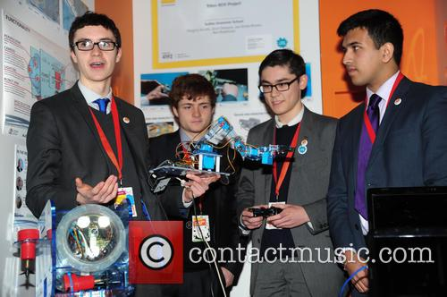Engineers, Sutton Grammar School, Gregory Brooks 17yrs, Arun Dawson 18yrs, Leo Rowe-brown 18yrs and Ben Rowlinson 18yrs 3