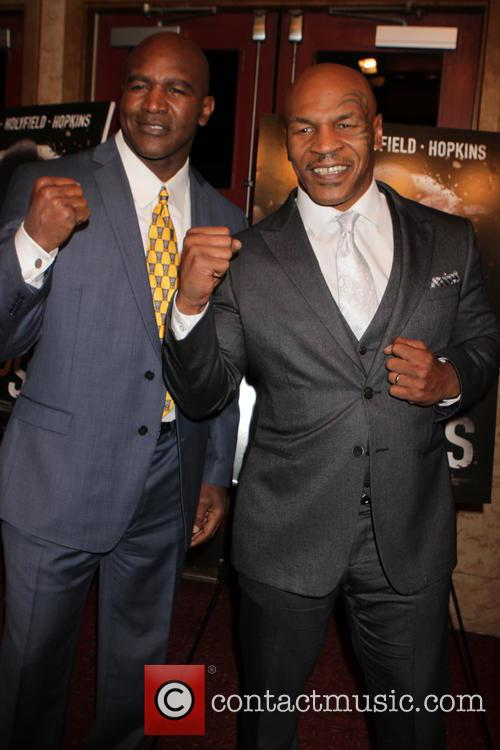 Mike Tyson and Evander Holyfield 6