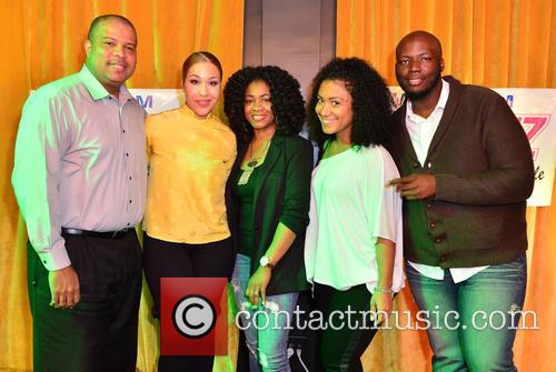 Derrick Baker, Ja'rae Womack, Radio On Air Personality Shelby Rushin, Felisha Monet and Guest 1
