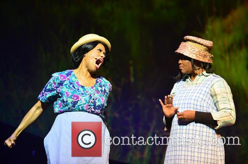 The cast of 'The Color Purple' perform on...