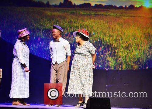 The Color Purple, Tashika Benson, Todd Rasean and Jennifer Holliday 6