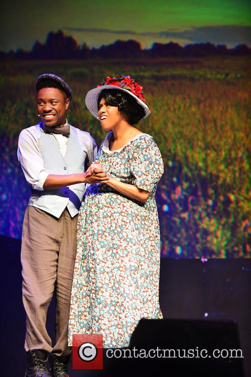 The Color Purple, Todd Rasean and Jennifer Holliday 10