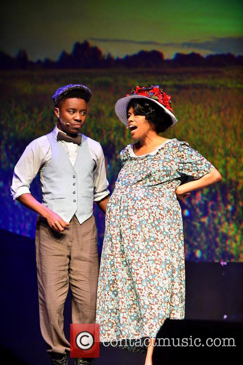 The Color Purple, Todd Rasean and Jennifer Holliday 11