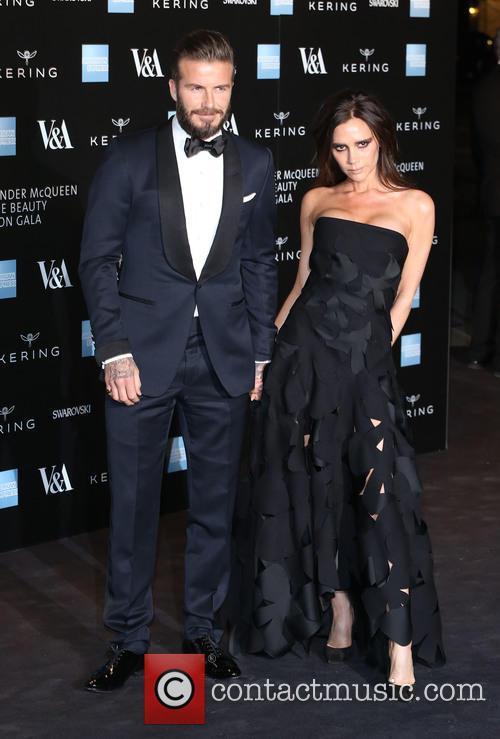 David Beckham and Victoria Beckham 9