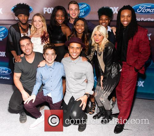 American Idol XlV Finalists Party