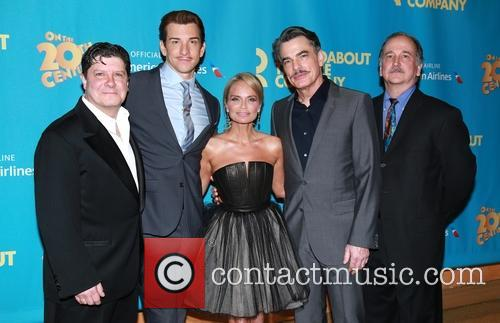 Michael Mcgrath, Andy Karl, Kristin Chenoweth, Peter Gallagher and Mark Linn-baker 4