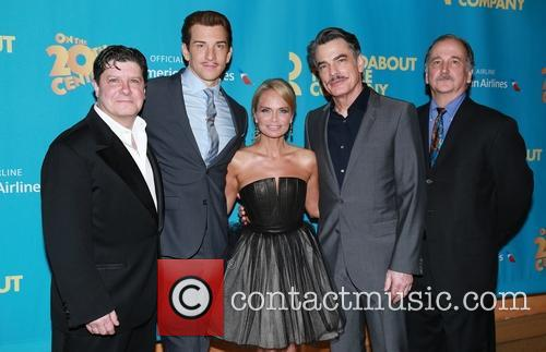 Michael Mcgrath, Andy Karl, Kristin Chenoweth, Peter Gallagher and Mark Linn-baker 5