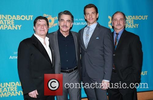 Michael Mcgrath, Peter Gallagher, Andy Karl and Mark Linn-baker 3