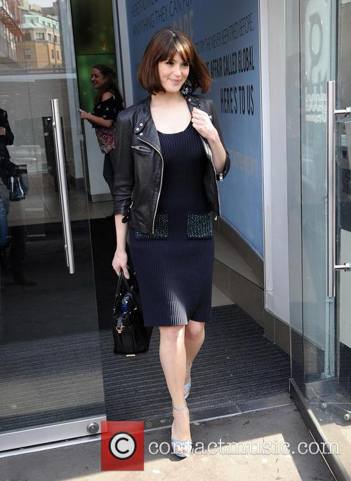 Gemma Arterton at Capital Radio