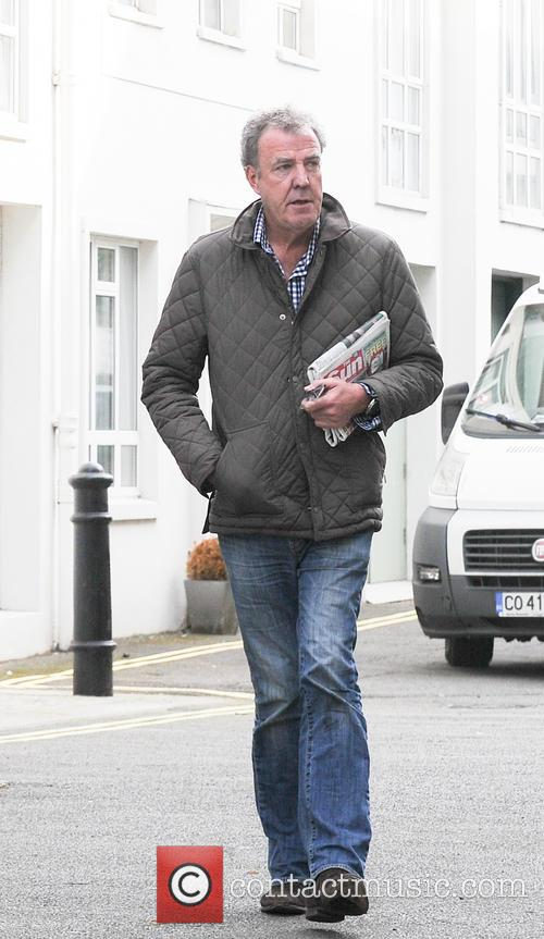 Jeremy Clarkson in London
