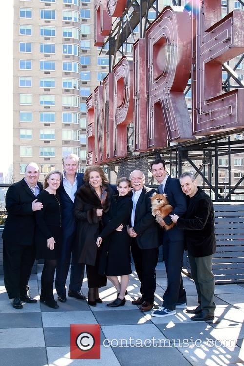 Blake Hammond, Kathleen Marshall, Douglas Sills, Renée Fleming, Anna Chlumsky, Scott Robertson, Jerry O'connell, Trixie and Joe Dipietro 9