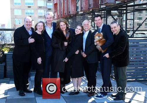Blake Hammond, Kathleen Marshall, Douglas Sills, Renée Fleming, Anna Chlumsky, Scott Robertson, Jerry O'connell, Trixie and Joe Dipietro 10