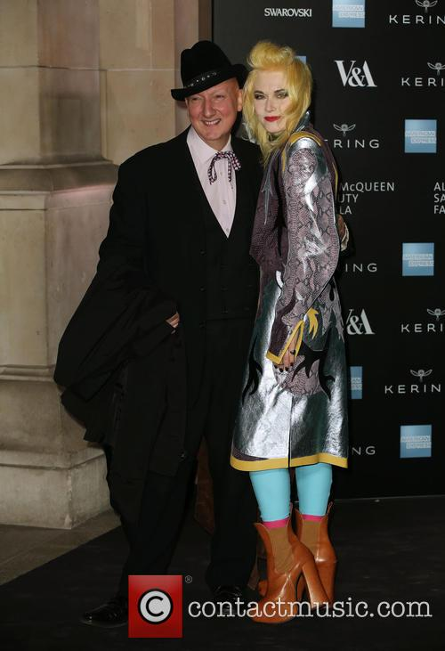 Stephen Jones and Pam Hogg 1