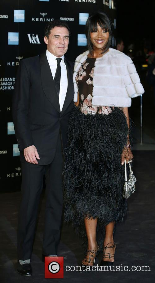 Andre Balazs and Naomi Campbell 2