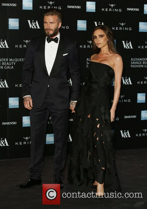 David Beckham Beats Posh In The Style Stakes