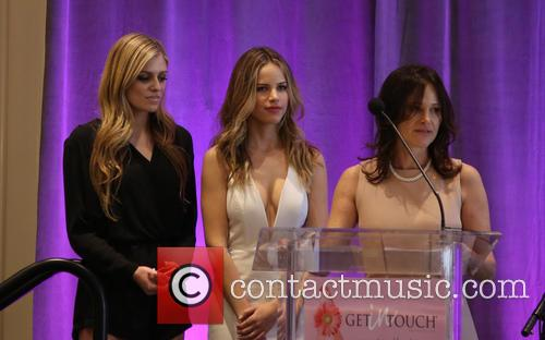 Kate Pitney, Halston Sage and Tema Sage 1