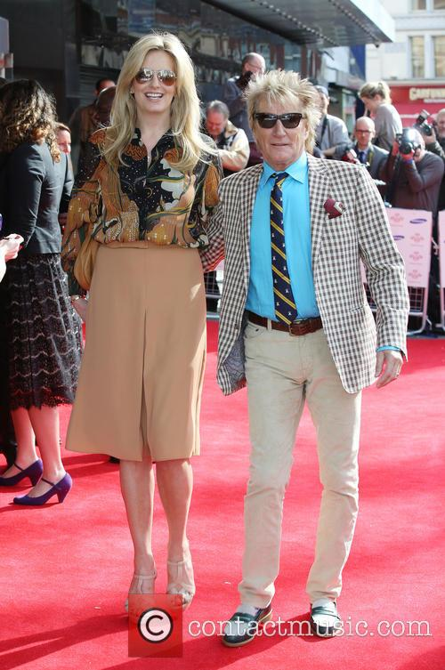 Rod Stewart and Penny Lancaster 4