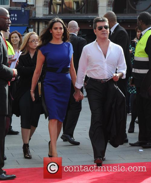 Lauren Silverman and Simon Cowell 8