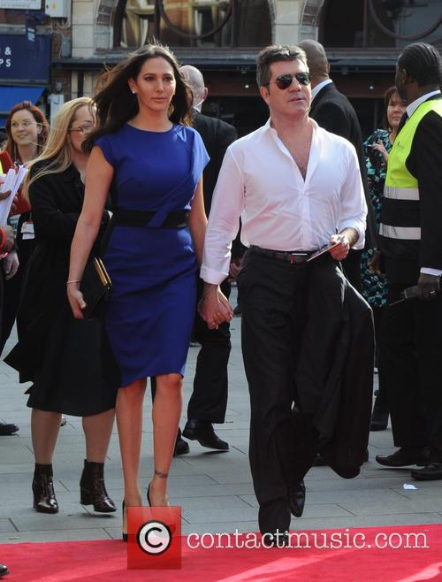 Lauren Silverman and Simon Cowell 9