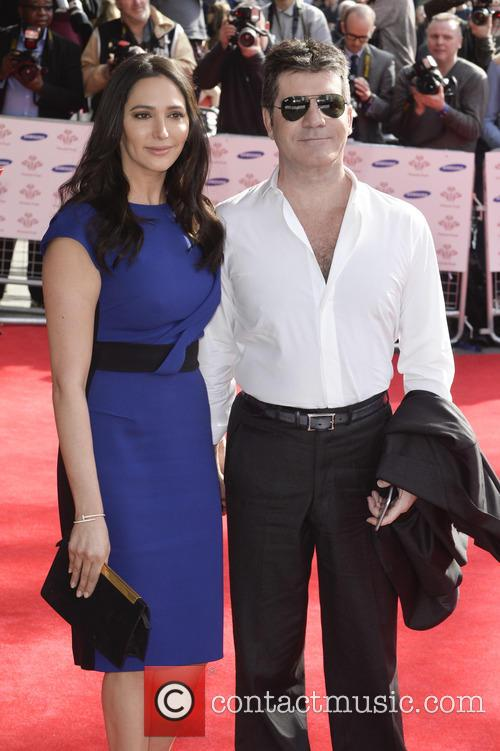 Lauren Silverman and Simon Cowell 5