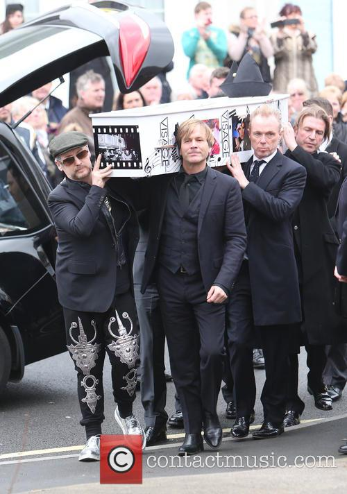 The funeral of Visage star Steve Strange