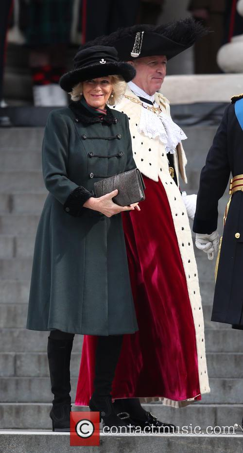 Cathedral and Camilla Duchess Of Cornwall 3