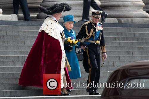 The Queen, The Duke Of Edinburgh and Prince Philip 1