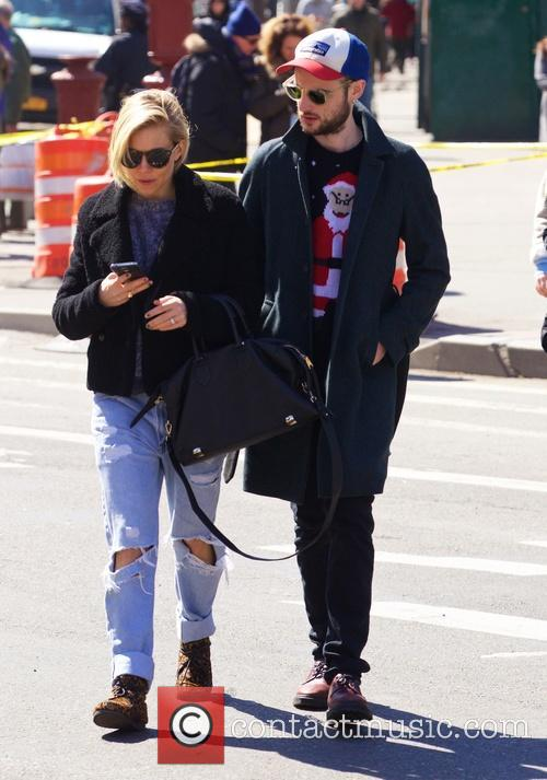 Sienna Miller and Tom Sturridge out in New...