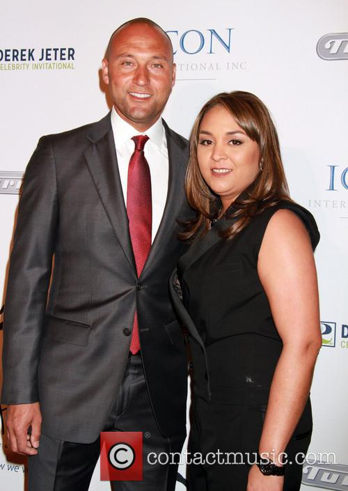 Derek Jeter and Sharlee Jeter 7