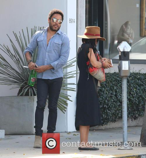 Lenny Kravitz and Lisa Bonet 3