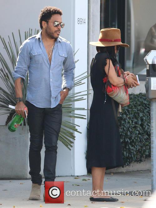 Lenny Kravitz and Lisa Bonet 6