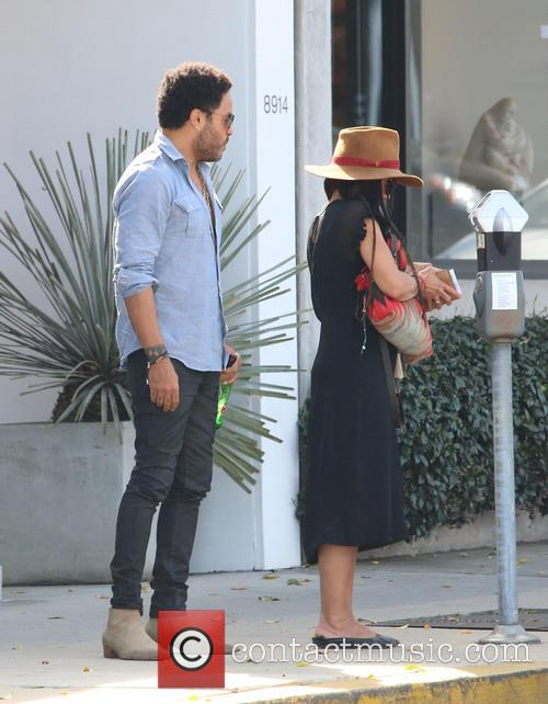 Lenny Kravitz and Lisa Bonet 8