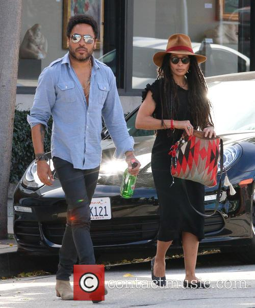 Lenny Kravitz and Lisa Bonet 10