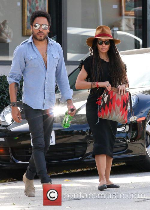 Lenny Kravitz and Lisa Bonet 11