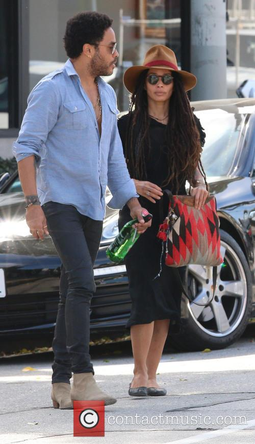 Lenny Kravitz and Lisa Bonet 1