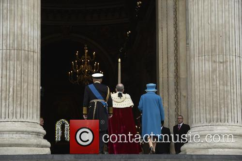Duke Of Edinburgh Prince Philip and Hrh Queen Elizabeth Ii 3