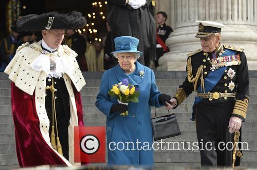 Hrh Queen Elizabeth Ii and Duke Of Edinburgh Prince Philip 1