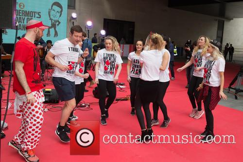 Ashley Roberts, Laura Whitmore and Dermot O'leary 3