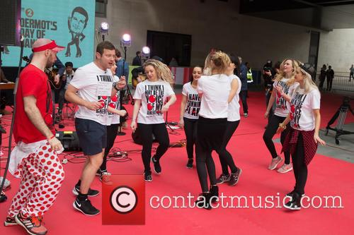Ashley Roberts, Laura Whitmore and Dermot O'leary 4
