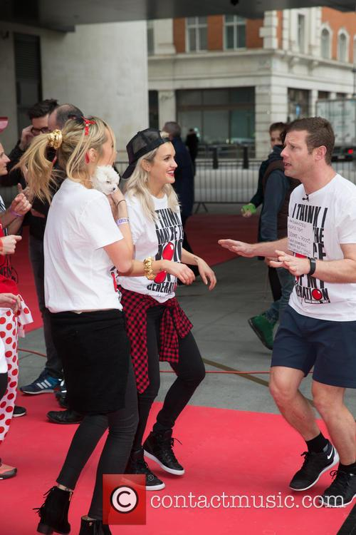 Ashley Roberts, Laura Whitmore and Dermot O'leary 11