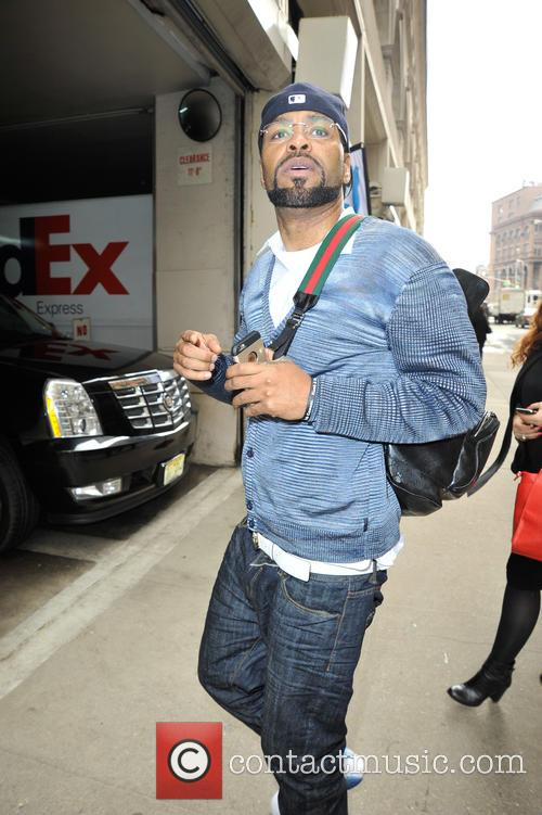 Method Man out in Manhattan