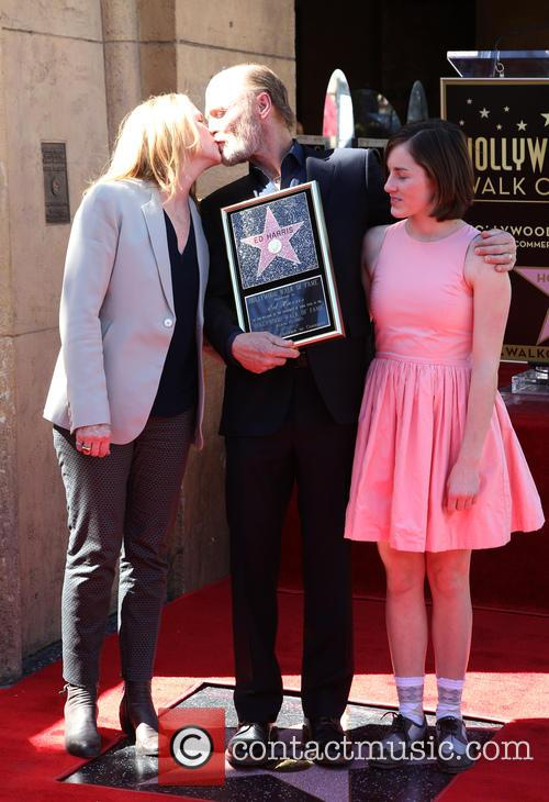 Amy Madigan, Ed Harris and Lily Dolores Harris 4